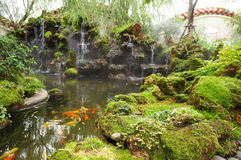 Beautiful chinese garden Stock Photography