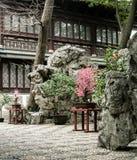 Beautiful Chinese gardens Stock Photo