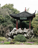 Beautiful Chinese gardens Stock Images