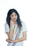 Beautiful Chinese girl Stock Photos