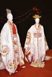 Beautiful Chinese or Japanese clothing at the Festival of the Orient in Rome Italy Royalty Free Stock Image