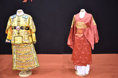 Beautiful Chinese or Japanese clothing at the Festival of the Orient in Rome Italy Stock Photography
