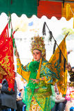 The beautiful Chinese opera Stock Images