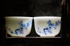 Beautiful Chinese Porcelain Royalty Free Stock Image