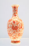 Beautiful Chinese porcelain bottles Stock Image