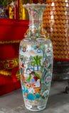 Beautiful Chinese porcelain vase Stock Photo