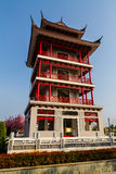 The beautiful Chinese shrine Royalty Free Stock Photos