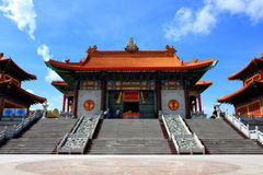 Beautiful in chinese temple at Thailand Stock Photo