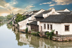 Beautiful Chinese water town Royalty Free Stock Photography