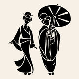 Beautiful Chinese Women Stock Images