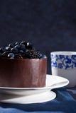 Beautiful chocolate cake Stock Image