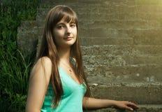 Beautiful Christian girl Stock Image