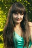 Beautiful Christian girl Stock Photo