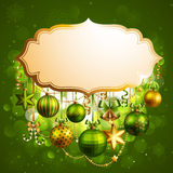 Beautiful christmas. Background with place for text. Vector illustration stock illustration