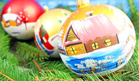 Beautiful christmas Stock Photo