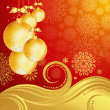 Beautiful Christmas background. Stock Image