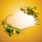 Beautiful christmas background. With place for text. Vector illustration royalty free illustration
