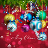 Beautiful christmas background. 10 vector illustration