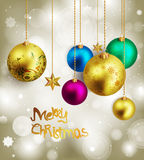 Beautiful christmas background Royalty Free Stock Photography