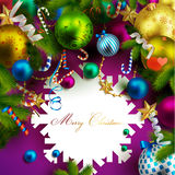 Beautiful christmas background Stock Photos