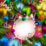 Beautiful christmas background Royalty Free Stock Photo