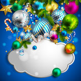 Beautiful christmas background. 10 royalty free illustration