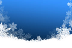Beautiful Christmas background with snowflakes Royalty Free Stock Photo