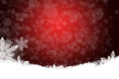 Beautiful Christmas background with snowflakes Royalty Free Stock Photography