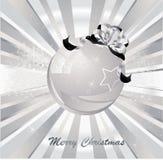Beautiful christmas ball Royalty Free Stock Photo