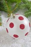 Beautiful christmas the ball Stock Photography