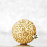 Beautiful christmas ball Royalty Free Stock Photo