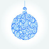 Beautiful Christmas ball. Great design element for Royalty Free Stock Photography