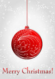 Beautiful Christmas ball illustration Stock Photography