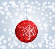 Beautiful Christmas ball illustration Stock Images