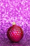 Beautiful christmas ball Stock Images