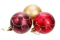 Beautiful christmas balls Royalty Free Stock Photography