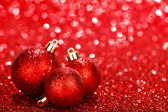 Beautiful christmas balls Royalty Free Stock Photo