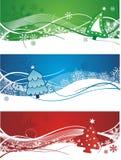 Beautiful christmas banners  Stock Photo