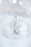 Beautiful christmas bauble Stock Images