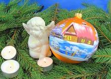 Beautiful christmas baubles Royalty Free Stock Photos