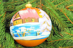 Beautiful christmas baubles Royalty Free Stock Image