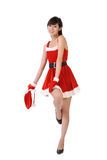 Beautiful Christmas beauty Royalty Free Stock Image