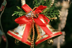 Beautiful christmas bells Royalty Free Stock Photo