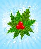 Beautiful christmas blue background Stock Images