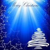 Beautiful Christmas card. Stock Image