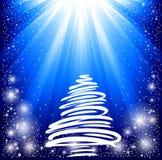 Beautiful Christmas card. Royalty Free Stock Photo