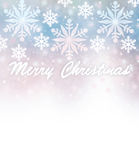 Beautiful Christmas card border Royalty Free Stock Photography