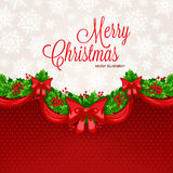 Beautiful Christmas card Royalty Free Stock Images