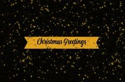 Beautiful Christmas card illustration stock photography
