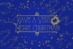 Beautiful Christmas card illustration royalty free stock photo